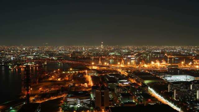 Osaka's nachts, Timelapse
