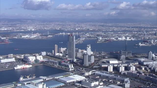 AERIAL, Osaka Bay Area, Japan