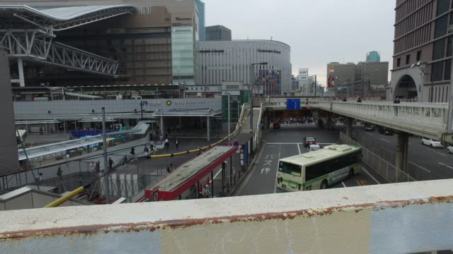 大阪市 - 大阪駅点の映像素材/bロール