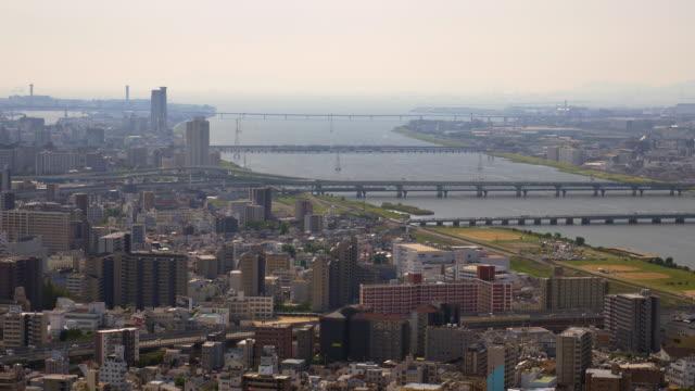 Osaka city view from Umeda sky building, Osaka