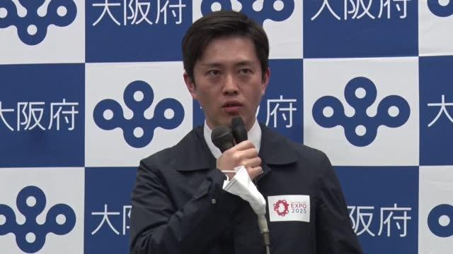 vídeos de stock, filmes e b-roll de osaka gov. hirofumi yoshimura tells reporters at the prefectural government headquarters in osaka on april 1 that the tokyo olympic torch relay legs... - revezamento