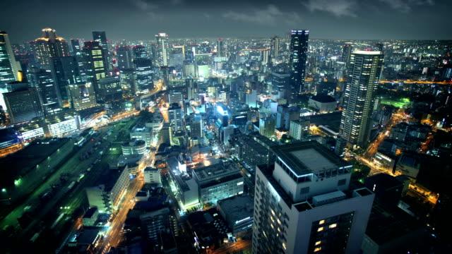osaka, japan - osaka stock videos and b-roll footage