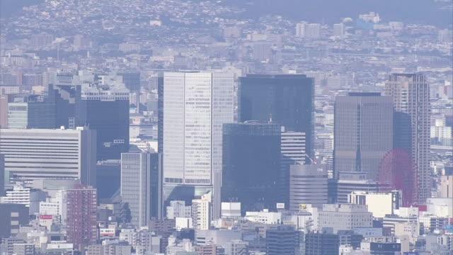 AERIAL, Osaka Skyline, Japan