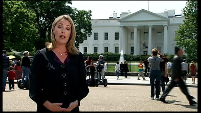 Osama bin Laden shot dead by US troops Washington DC Reporter to camera