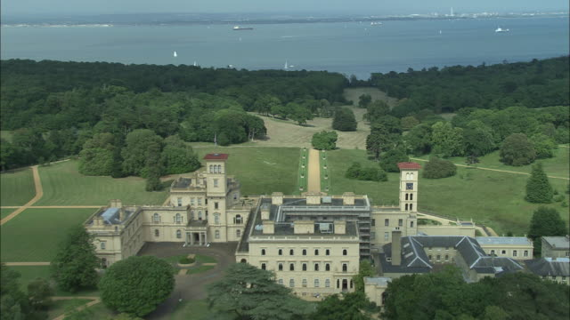 osborne house isle of wight - isle of wight stock videos & royalty-free footage