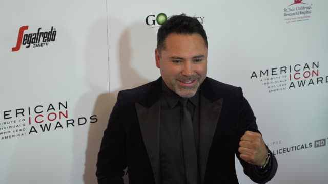 Oscar De La Hoya at The American Icon Award at Regent Beverly Wilshire Hotel on May 19 2019 in Beverly Hills California