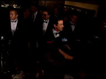 oscar de la hoya at the evening of champions gala at the beverly hilton in beverly hills, california on december 3, 1998. - oscar de la hoya video stock e b–roll