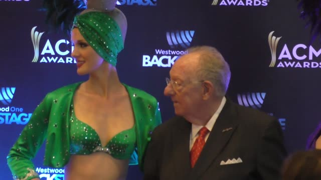 oscar goodman at the 51st academy of country music awards radio row at the mgm grand las vegas hotel and casino at celebrity sightings in las vegas... - mgm grand las vegas stock videos & royalty-free footage