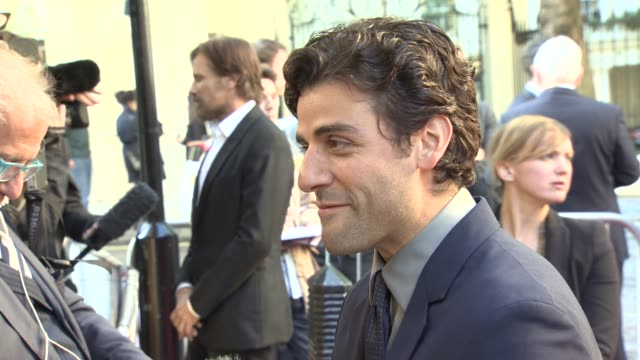 Oscar Isaac at Two Faces Of January' Premiere at The Curzon Mayfair on May 13 2014 in London England