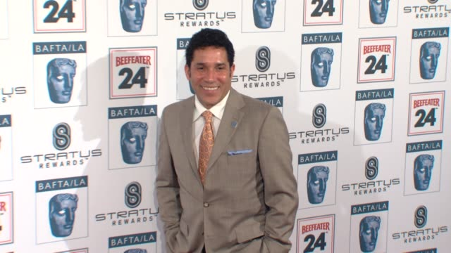 oscar nu_ez at the bafta s 16th annual awards season tea party at beverly hills ca. - nu stock videos & royalty-free footage