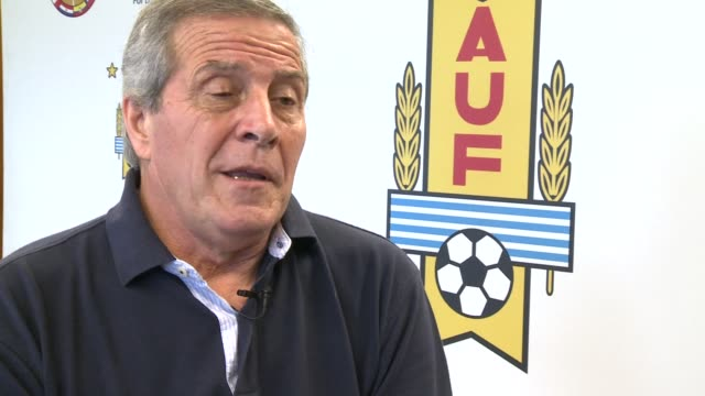 Oscar Tabarez the coach of the Uruguayan football team spoke to AFP ahead of the World Cup kicking off in Brazil on June 12 CLEAN Interview with...