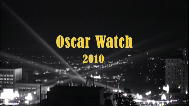 stockvideo's en b-roll-footage met oscar watch 2010 - academy awards