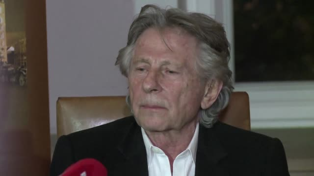 stockvideo's en b-roll-footage met oscar winning director roman polanski says he is very happy that a polish court rejected a bid to extradite him to the united states to face... - roman polanski