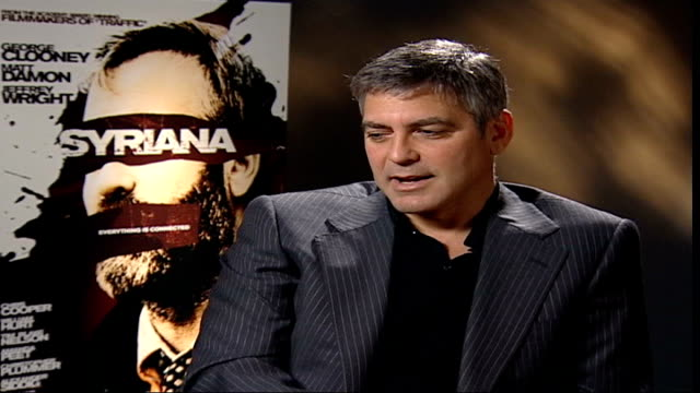 Preview ENGLAND London GIR INT George Clooney interview SOT It's fun to sit back and say that a film that you wrote and directed is nominated for six...