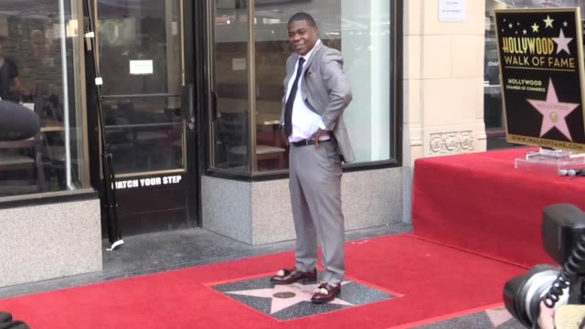 """Oscarwinner Jordan Peele celebrated Tracy Morgan as a """"legend"""" and an influence as the 30 Rock actor was presented with a star on the Hollywood Walk..."""