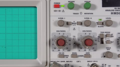 oscilloscope - high voltage sign stock videos & royalty-free footage