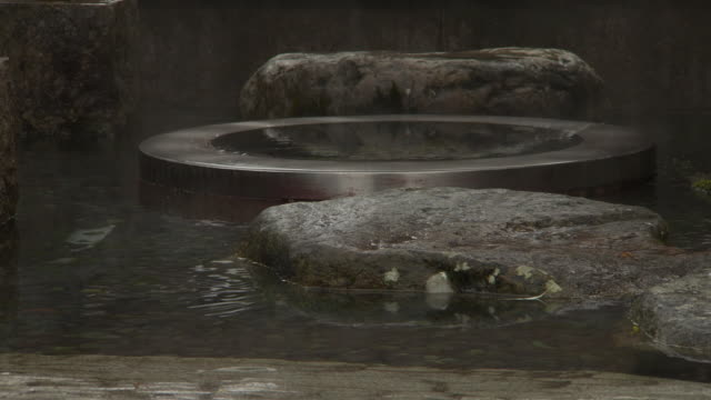 vídeos de stock, filmes e b-roll de oshozu, spring water, fukui, japan - neve derretida