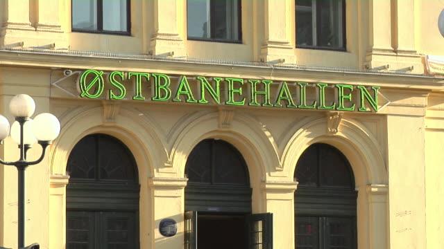 oslo central station - västerländsk text bildbanksvideor och videomaterial från bakom kulisserna