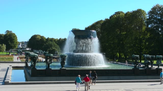 Oslo Norway Vigeland Installaation park