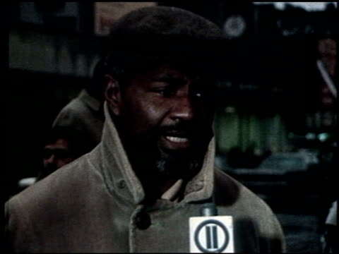 Ossie Davis on Government and Black Panther Party in New York New York