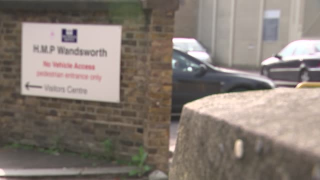 Inquest finds failures at Wandsworth Prison contributed to prisoner's death R03101504 / 3102015 London HM Prison Wandsworth INT Silhouette of...