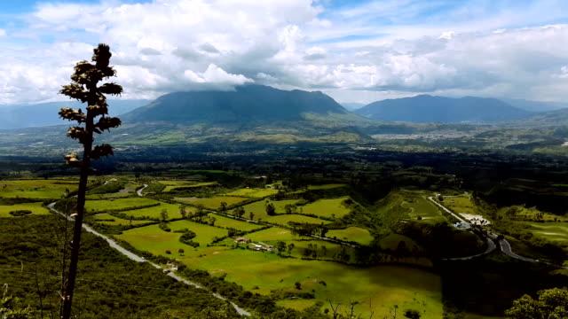 otavalo mountain in ecuador