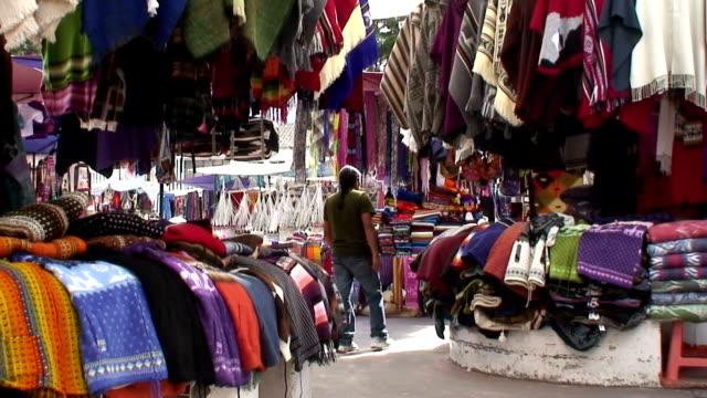 Otavalo traditional ethnic market, Ecuador