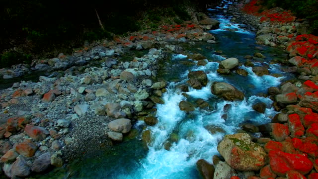 otira valley river - scenics stock videos & royalty-free footage