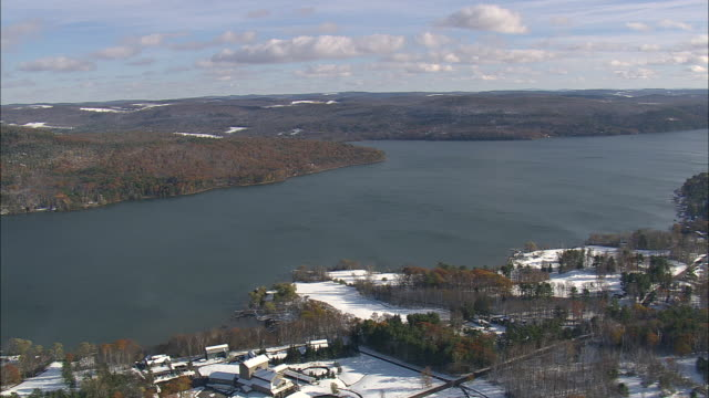 otsego lake - アルスター郡点の映像素材/bロール