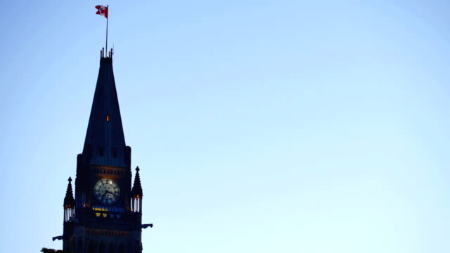 ottawa, canada - parliament hill stock videos and b-roll footage