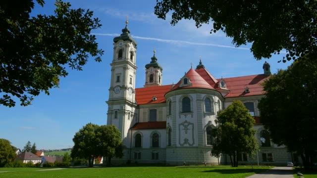 ottobeuren abbey, allgaeu, swabia, bavaria, germany - circa 12th century stock videos & royalty-free footage