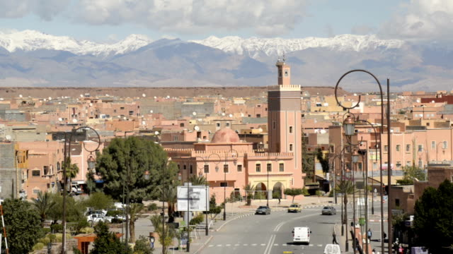 ouarzazate, morocco, north africa - mosque stock videos & royalty-free footage