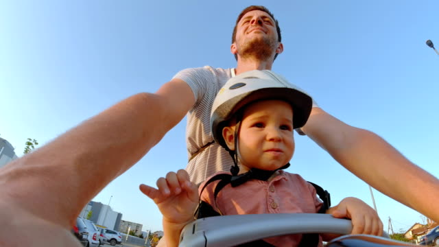 our cycling adventure - wearable camera stock videos & royalty-free footage