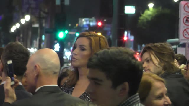 """our lady j outside the opening night of disney's """"frozen"""" at hollywood pantages theatre at celebrity sightings in los angeles on december 06, 2019 in... - pantages theater stock videos & royalty-free footage"""