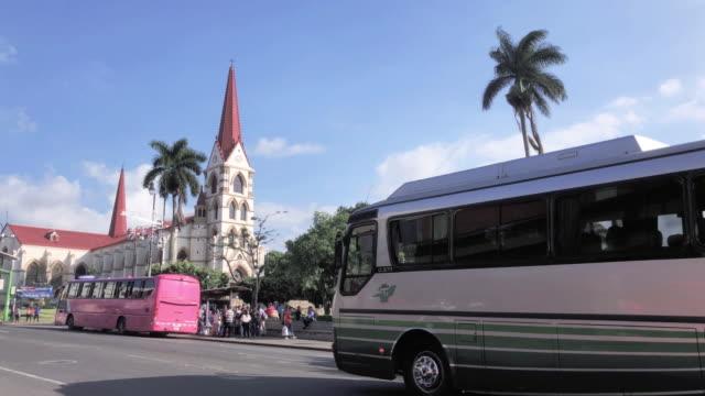 マーシー教会の聖母 - 中央アメリカ点の映像素材/bロール