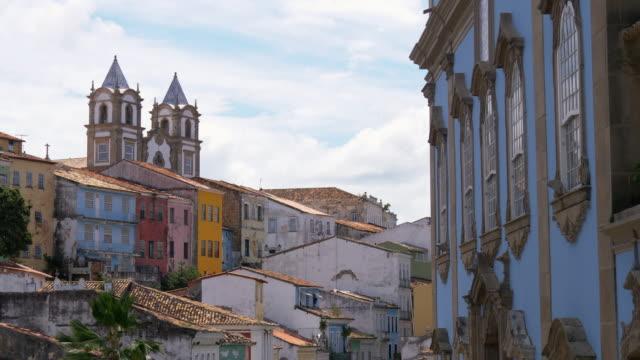 vídeos y material grabado en eventos de stock de iglesia nossa senhora do rosário dos pretos, salvador, brasil - bahía