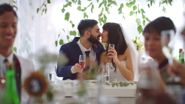 our love story is my favourite - wedding reception stock videos & royalty-free footage