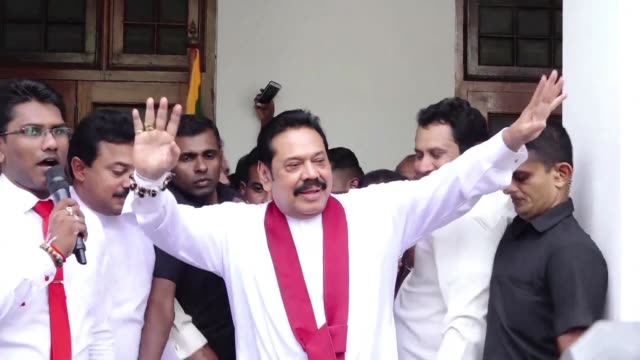 Ousted Sri Lankan Prime Minister Ranil Wickremesinghe calls for parliament to be allowed to choose between him and Mahinda Rajapakse the former...