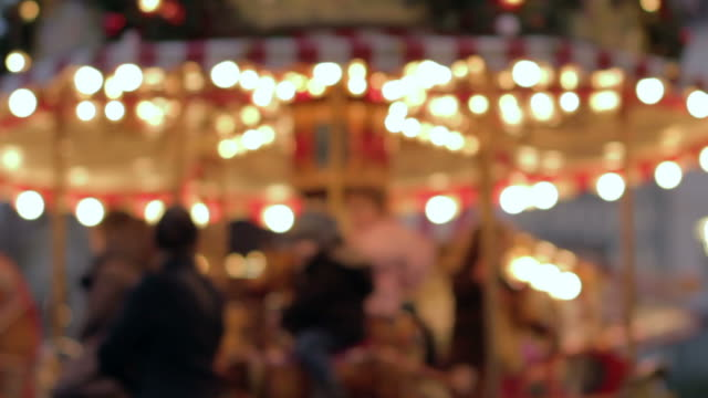Out of focus carousel