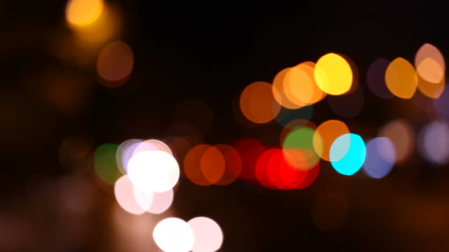 Out of focus traffic lights in FullHD.