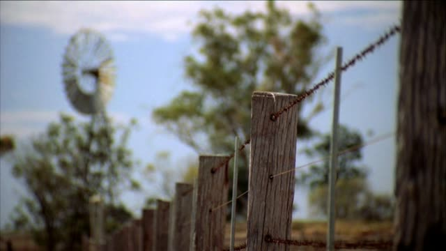 Outback Farm Fence