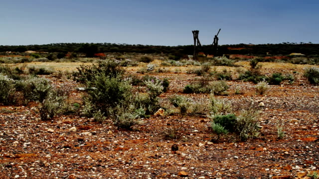 outback ghost town - mining stock videos & royalty-free footage