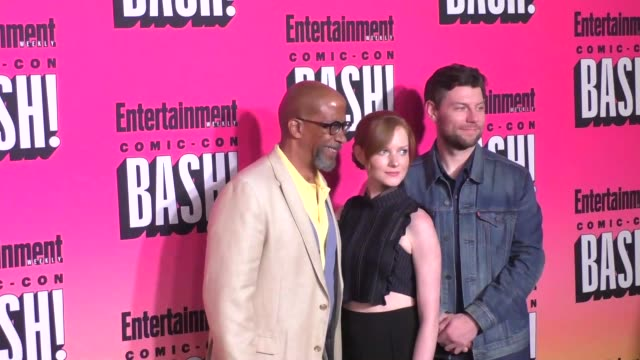 Outcast Cast at the Entertainment Weekly San Diego Comic Con Party