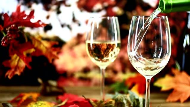 Outdoor, Blätter Herbst Weinverkostung mit Herbst.
