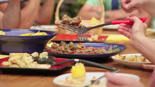 outdoor meal - hamper stock videos & royalty-free footage