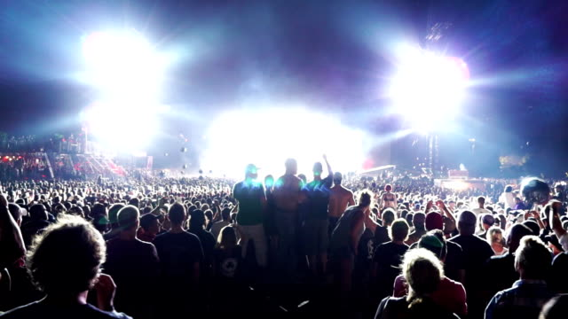 Outdoor Music Festival Montage