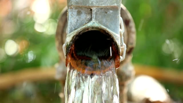 Outdoor water pipe
