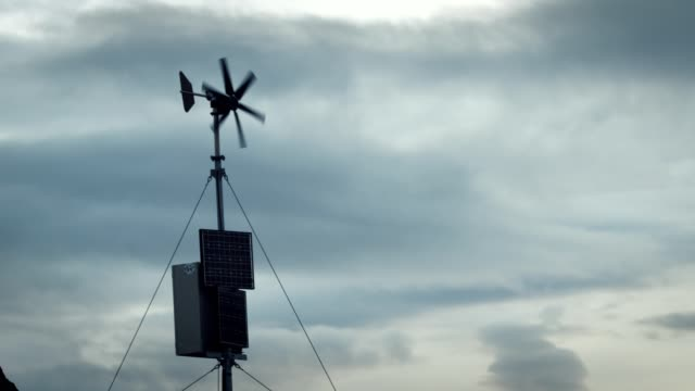 outdoor weather station - instrument of measurement stock videos & royalty-free footage