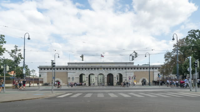 outer gate in vienna, gate of hofburg in vienna - the hofburg complex stock videos & royalty-free footage