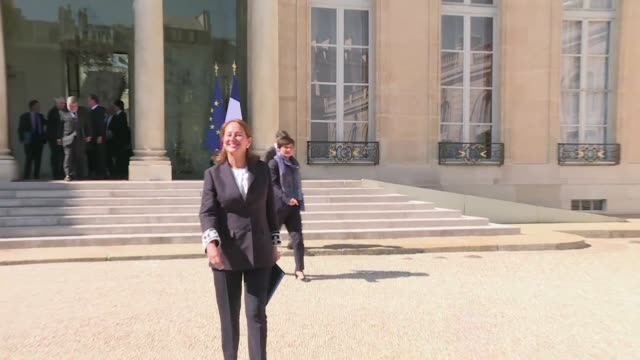 outgoing french president françois hollande presided over his final ministers meeting on wednesday four days before he is set to hand over the keys... - president stock videos and b-roll footage
